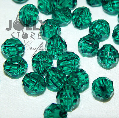 6mm Olive Faceted Round Beads 500pc made in USA school church VBS crafts