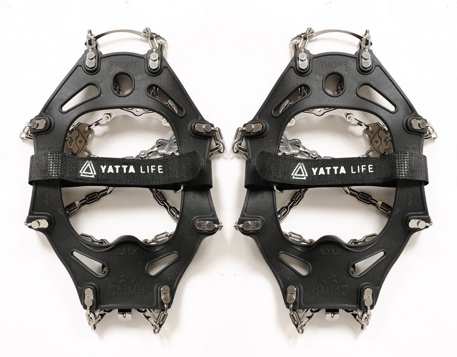 Yatta Life Trail Spikes Crampon Ice Grips (large)