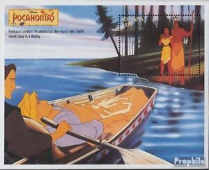 Unmounted Mint Never Hinged 1995 Walt Disney Year-End Bargain Sale complete Issue Guyana Block475