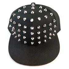 Spike Hat Bar Party Hedgehog Spiked Punk Hip Hop Cap Studded Studs Fashion