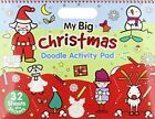 Christmas Landscape Doodle Book - My Big Christmas: Activity & Doodle Pad by North Parade Publishing (Novelty book, 2014)
