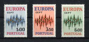 Portugal-CEPT-N-1166-1168-cachet-Europe-Michel-30-00-Neuf-sans-charniere