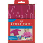 Faber-Castell Malschürze Mädchen Brombeer Pink