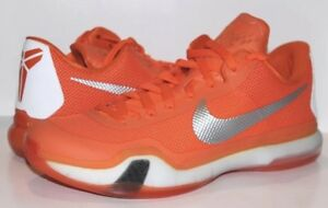 4ea52034cb20 Men s Nike Kobe X 10 TB Basketball Shoes University Orange Blaze ...