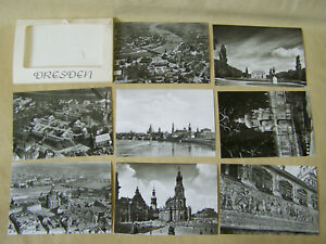 Convolute-Old-Views-Dresden-Authentic-Photo-Ak-Old-Vintage