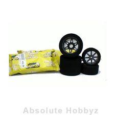 Matrix 1/8 Rear Tyres 35 Shore Carbon 5 Flex Wheel (2) - MX8P35FCF