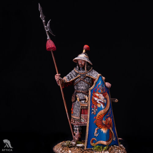 Chinese Heavy Infantryman Ming dynasty 54mm Tin Painted Toy SoldierArt