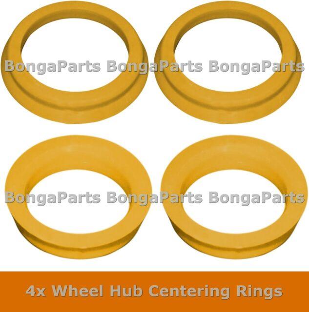 4x RIMS Hub Centering RINGS Wheel Bore Center SPIGOTS Collar Reducers ALL SIZES