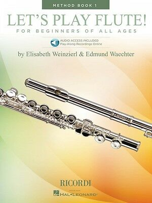 Let's Play Flute Method Book 1 Book With Online Audio Woodwind Method 050600096 Instruction Books, Cds & Video Musical Instruments & Gear