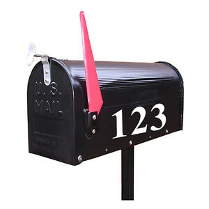 number stickers for mailbox 2 black silver reflective letter mailbox  stickers mailbox number stickers lowes