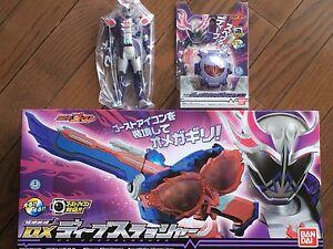 Details about Kamen Masked Rider Ghost DX Deep Slasher & Deepspecter ghost  eyecon & Figure set