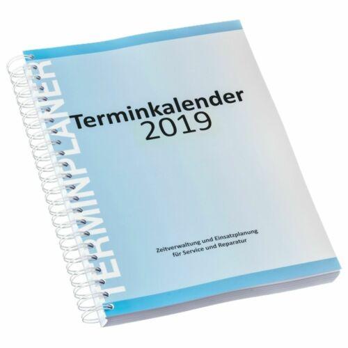 Eichner Werkstatt-Terminplaner