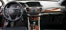 HONDA ACCORD EX EX-L SPORT INTERIOR WOOD DASH TRIM KIT 2013 2014 2015 2016 2017