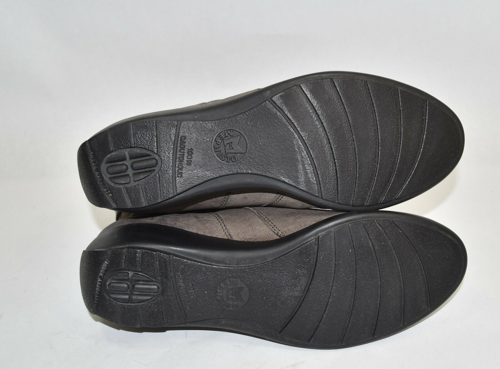 Mephisto 'Seddy' Wedge Bootie Pewter  Leder $400  Size 8 US $400 Leder a94274