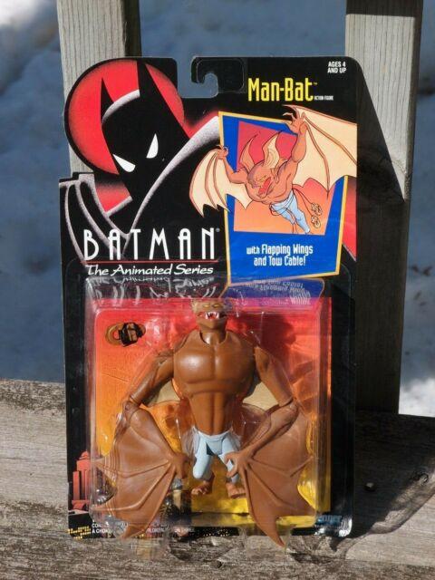 MAN-BAT BATMAN MAN BAT the Animated Series BTAS action figure FLAPPING WINGS new
