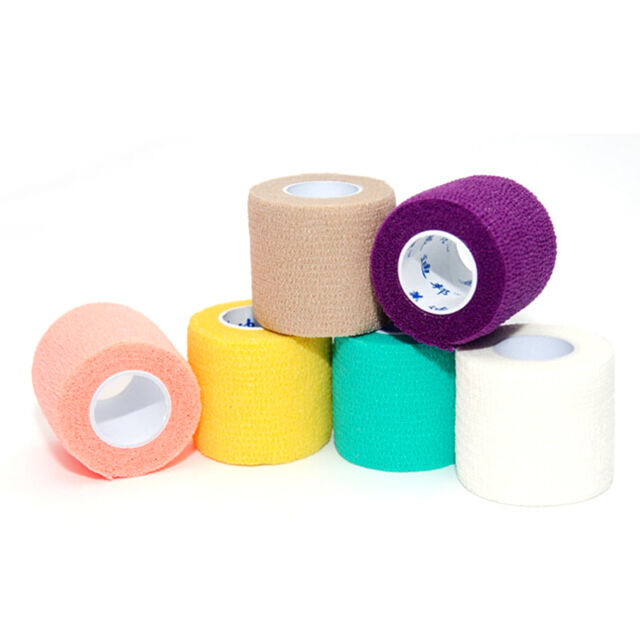 Therapeutic Sport Gym Physio Muscles  Elastic Tape Bandage 4.5m Hot.