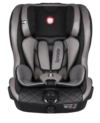 Lionelo Baby Car Seat Adriaan Leather Black