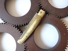 Couteau sarde PATTADA manche naturel vintage pocket knife with horn handle