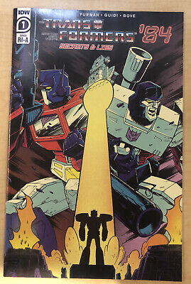 IDW Transformers /'84 Secrets and Lies #1 SDCC 2020 Comic-Con @Home