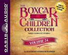 The Boxcar Children Collection Volume 24: The Mystery of the Pirate's Map, the Ghost Town Mystery, the Mystery in the Mall by Gertrude Chandler Warner (CD-Audio, 2015)