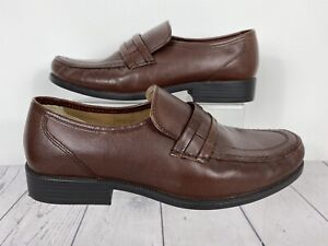 Clarks Shoes UK 8.5 Extra Wide Brown