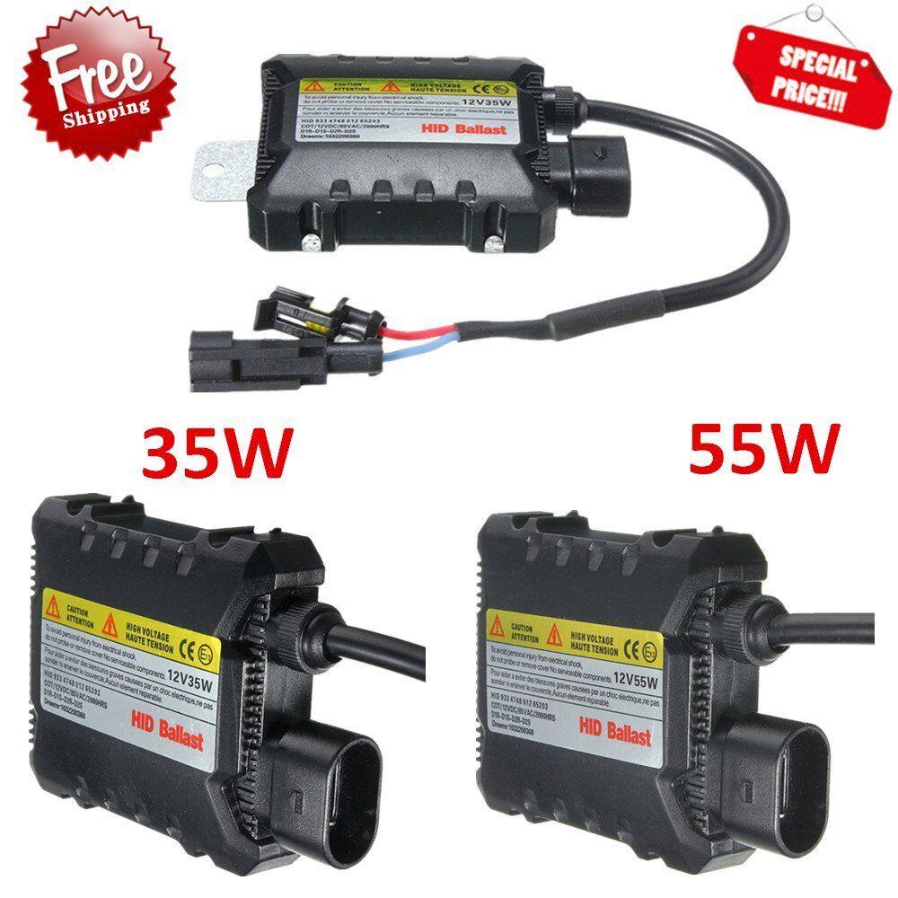2*35W//55W Universal Xenon HID Replacement Conversion Kit Digital DC Ballast UHK