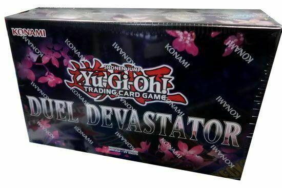Duel Devastator FACTORY SEALED Yugioh English 1st Edition Ultra Rare Promo Alt