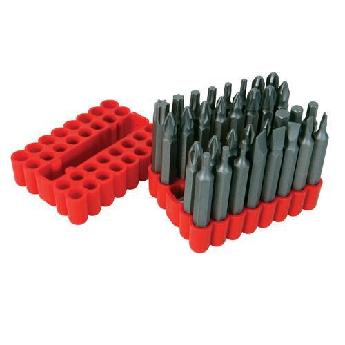 33 pièce 50mm tournevis bit set-comprend dimensions les plus courantes