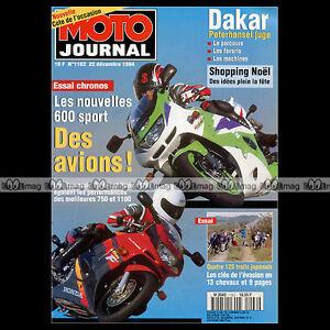MOTO-JOURNAL-1162-KAWASAKI-125-KDX-ZX-6R-NINJA-PARIS-DAKAR-PETERHANSEL-1994