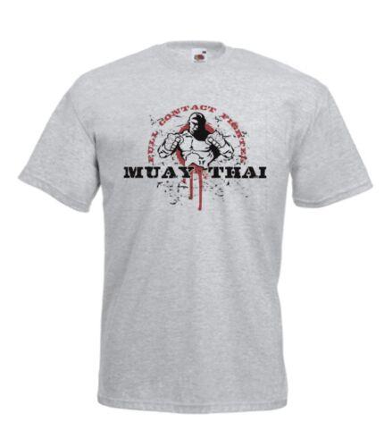 MUAY THAI MMA palestra sport Treno Nuovo Natale Regalo di Compleanno IDEA Ragazzi Ragazze Top T Shirt