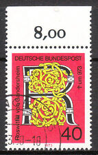 BRD 1973 im. nº 770 con sello Ober borde top! (8986)