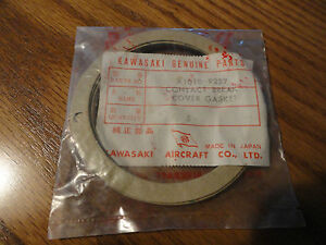 KAWASAKI A1 A1SS A7SS A7 CONTACT BREAKER COVER GASKET NOS OEM # A1010-9227 OM2