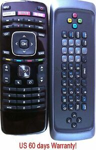 Original VIZIO XRT303 Qwerty keyboard remote for M3D550KDE M3D470KDE M3D550KD
