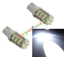 2x T10 168 194 W5W 42 SMD LED Cuña Bombilla de luz de la lámpara de señal DC 12V