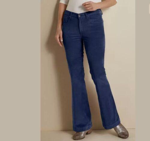 Soft Surroundings Velvet Freeman Flare Leg Pants 1