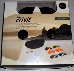 Details zu Design 100%UV Sportbrille Sonnenbrille Fahrrad Brille + 3 Wechselgläser+Etui