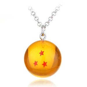 Anime-Dragon-Ball-Z-Collier-Artificielle-Cristal-Pendentif-Cosplay-Party-3-etoiles