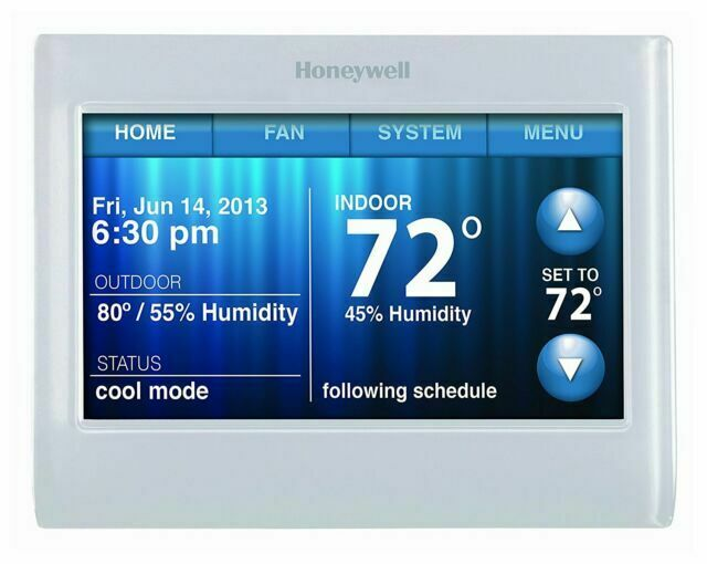 HONEYWELL TH9320WF5003 Wireless Wifi Thermostat, 7 Programma