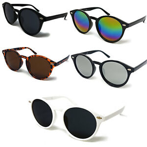 04629fb289c Image is loading Round-Lens-Sunglasses-Circle-Glasses-Oval-Womens-Classic-