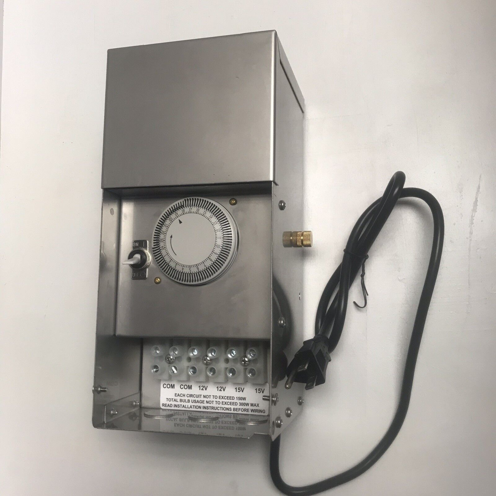 Multi-tap Max-load Stainless-Steel Transformer Voltage Low ...