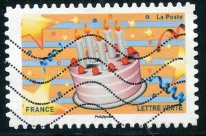 Copieux France Autoadhesif Oblitere N° 1559 Emoji / Emotions / Gateau D'anniversaire Ventes Pas ChèRes 50%
