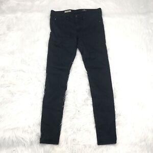 AG-Adriano-Goldschmied-The-Legging-Super-Skinny-Jeans-Size-29-Dark-Blue-Stretch