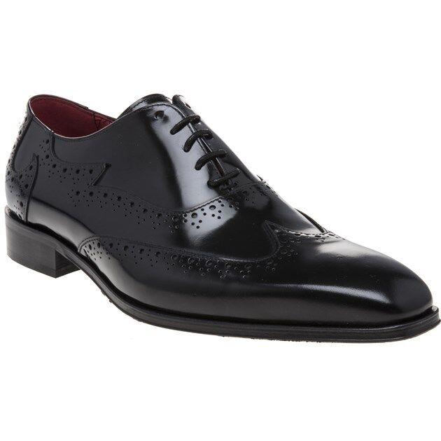 New Mens Jeffery  West nero Jb51 Leather scarpe Brogue Lace Up  l'intera rete più bassa