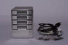 G-Technology G-Speed Q 4TB RAID External Hard Drive USB 2 eSATA FireWire 4-Bay