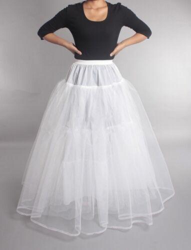 Wedding Petticoat Crinoline Slip Underskirt Bridal Dress Hoop Vintage Slips