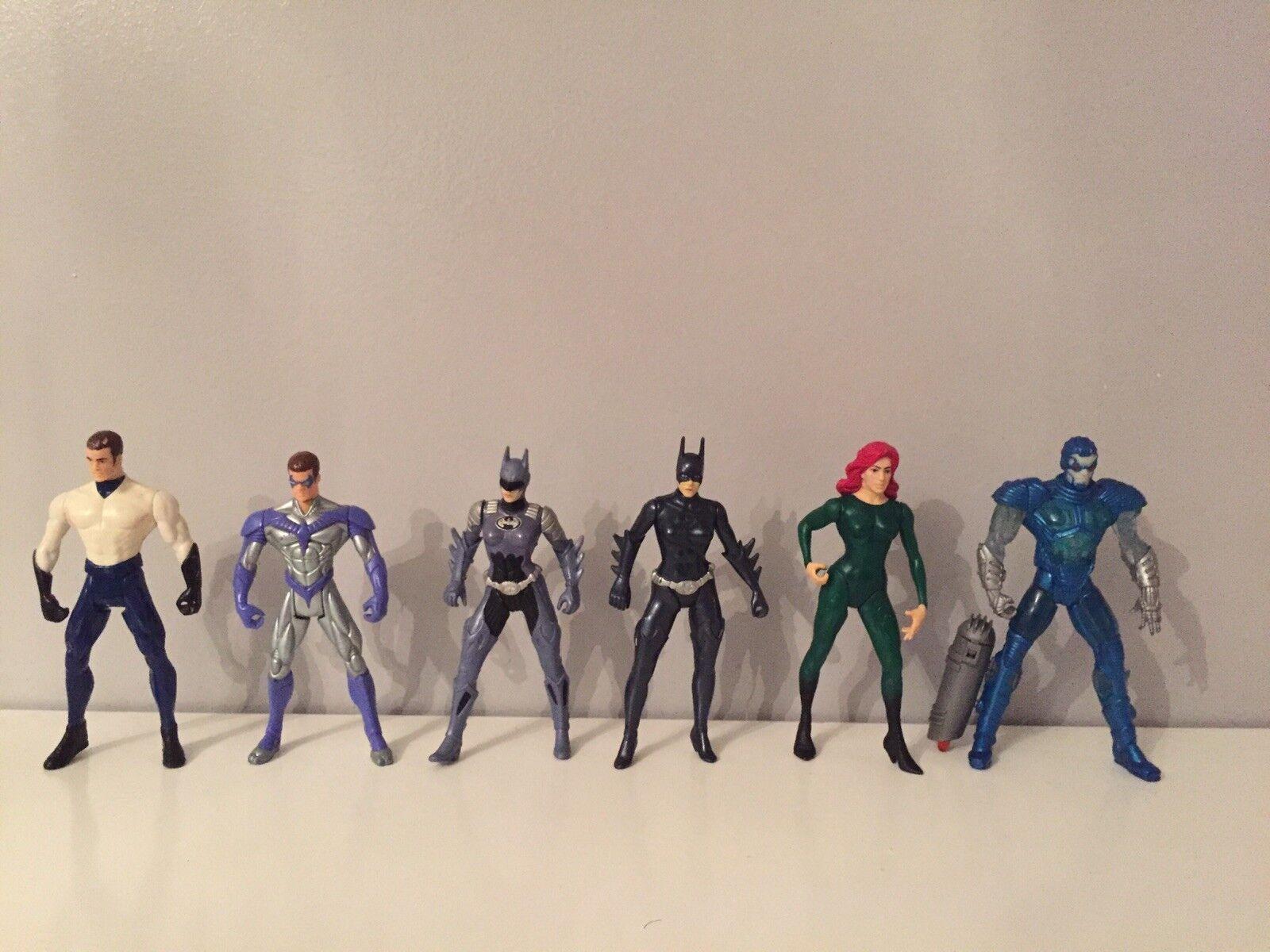DC Comics Batman Kenner 1997 Figure Bundle