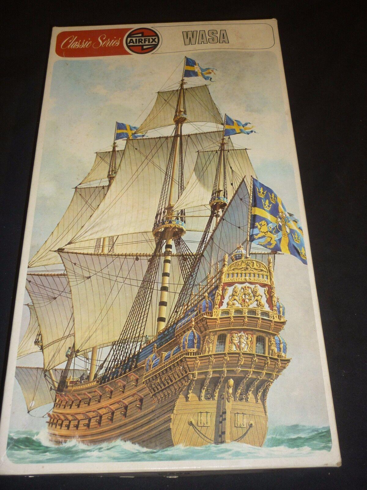 Airfix un made plastic kit of the sailing ship,  WASA...  boxed