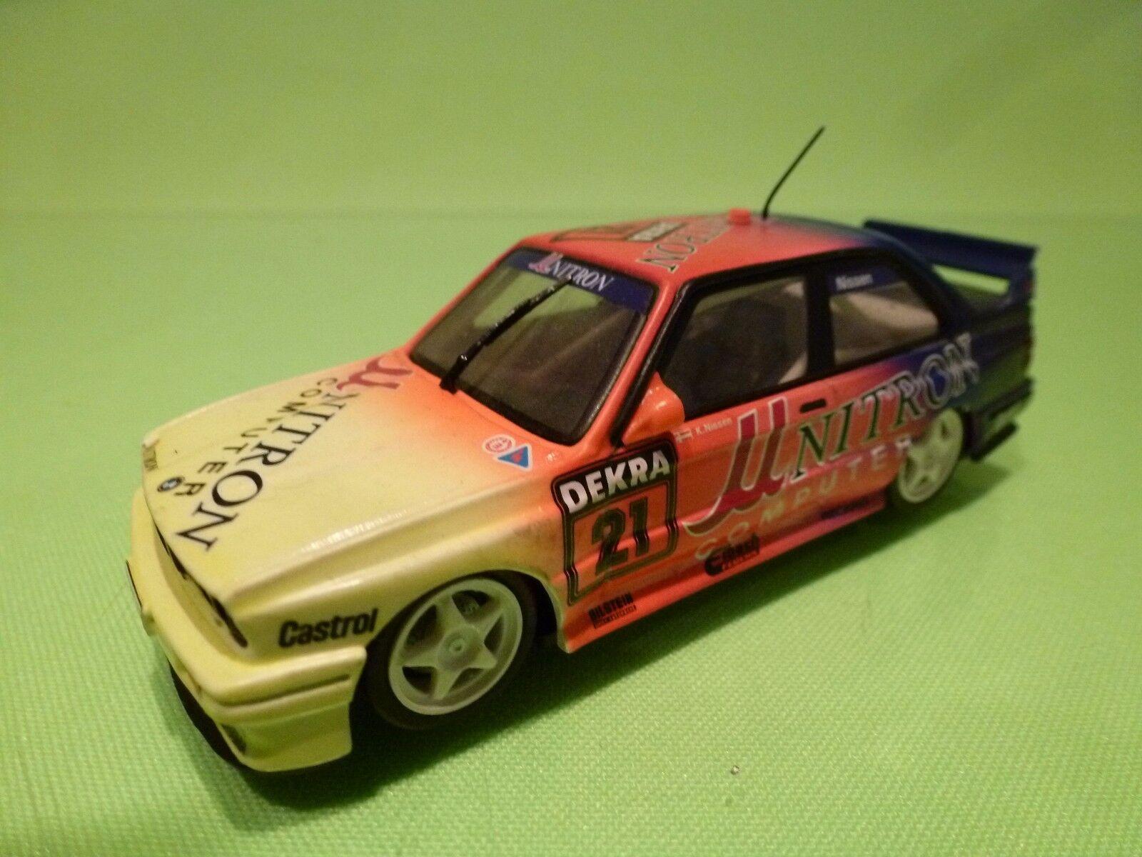 MINICHAMPS 2000 BMW M3 EVOLUTION E30 - - - NITRON 1 43  - GOOD CONDITION 61b8c2