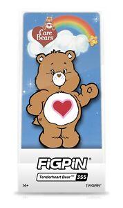 Figpin Care Bears Tenderheart Bear Le 1000 neue exklusive Carebears gesperrt Pin