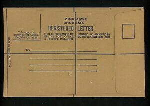 Postal-Stationery-OVERSIZED-registered-envelope-Rhodesia-1980-039-s-130mm-x-205mm